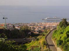 Madeira, mit Blick auf unser schwimmendes Hotel - von Michael Mester Bielefeld / Werther