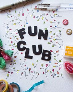 This time next week I'll be hosting the Baking Betsy Fun Club!  Taking place round my house lovely people will be making chatting and maybe having a couple of cheeky cocktails too. Bring a project you've been meaning to work on or try something that I'll have set up here. It's free! It's a chance to meet creative interesting people in Enfield. Link in my profile for the event page