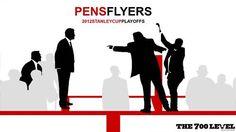 NHL: Pens vs. Flyers...2012