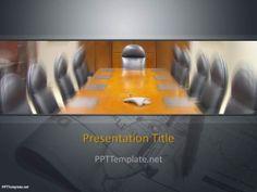 Plantilla PowerPoint de Reunión de Negocios