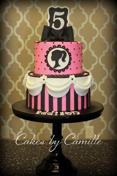 Barbie Silhouette Cake Specialty Cakes Picture cakepins.com