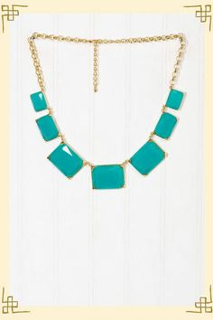 Francesca's Collections - Squared Away Necklace