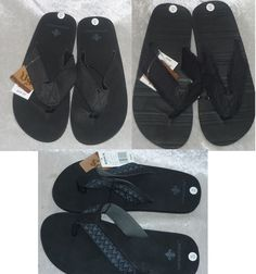Vintage Stone Mens Flip Flops Sandals Man Made Slip On size M XL NEW  16.99 free us shipping https://www.ebay.com/itm/263363465100
