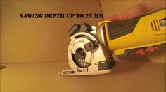 Tool review #3 (Powerplus - Mini circular saw)