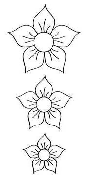 # i ekkal plar plar ncesi# i ek# i ekboyama yap t r # i ekkesyap t r # i ekkal b Floral Embroidery Patterns, Beading Patterns, Embroidery Stitches, Canvas Painting Patterns, Felt Flowers, Paper Flowers, Crochet Waffle Stitch, Bead Sewing, Art Drawings For Kids