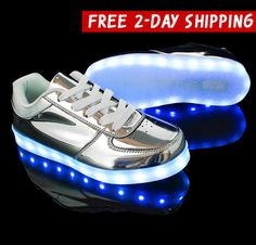 1b380e58ae8 These ultra-cool shoes look amazing and light up in over 7 colors. They