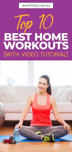 You may be surprised that for many workouts you need no equipment at all. Use your smartphone or computer to play a fitness video or a workout app and you are ready to hit the floor!Here is a list of the top 10 exercises to do at home: . . . #Fintys #Fitness #Athlete #WeightLoss #HomeWorkouts #Workout #HealthyLifestyle #HealthyLife #FitLife #Australia Fitness Facts, Health And Fitness Articles, Fitness Tips, Fitness Motivation, Health Fitness, Exercise Motivation, Fitness Exercises, Health Tips, Easy At Home Workouts