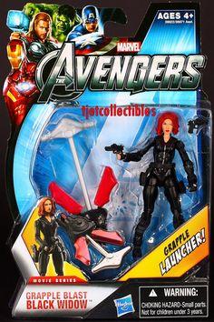 Grapple Blast Black Widow Avengers Wave 3 Movie Series 14 Action Figure | eBay