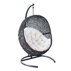 Fauteuil suspendu have a seat pinterest hanging chair rattan and bubbl - Fauteuil bubble chair ...
