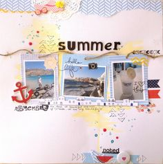 A Project by Alexandra Polyzou from our Scrapbooking Gallery originally submitted 01/24/14 at 12:47 AM