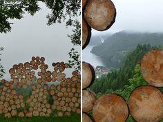 fragmented landscape wall by iván juárez + sandra garcía.