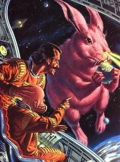 Gigantic Space Bunny