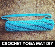 Diy Crochet, Crochet Hooks, Crochet Bags, Crochet Ideas, Yoga Mat Bag, Yoga Mats, Comfy Blankets, Knitted Bags, Crochet Projects