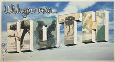 Hoth postcard, The Empire Strikes Back