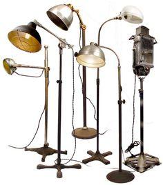 http://earlyelectrics.wordpress.com blog dedicado a lamparas antiguas y/o industriales
