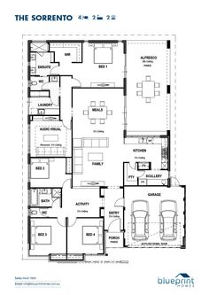 Blueprint homes the sorrento architecture pinterest sorrento the sorrento blueprint homes malvernweather Images