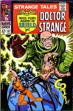 1967 Alley Award: Best Normal Adventure Hero - Nick Fury, Agent of S.H.I.E.L.D.  (Marvel Comics)