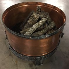 Get your stunning handcrafted copper fire pits at The Backyard & Patio Store. Copper Fire Pit, Patio Store, Outdoor Living, Outdoor Decor, Fire Pits, Backyard Patio, Outdoor Life, Campfires, Bonfire Pits