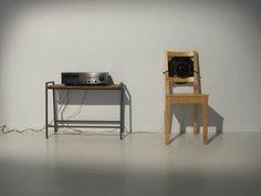 Sarah van Sonsbeeck, Machine for my Neighbours, microphone, amplifier, speaker, 2010; Courtesy of the artist