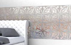 Modern Tile Designs Blending Concrete with Metal, Innovative Interior Design Ideas