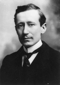 Guglielmo Marconi, inventor of wireless telegraphy and winner of the 1909 Nobel Prize in Physics.