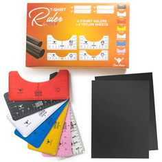 T-Shirt Designing Made Convenient & Easier Premium Quality & Craftsmanship Looking for a new hobby to enrich your skills and creativity? Or simply looking for tools to help you with your personalized gifts? Look no further! Our T-Shirt Alignment Tool & Heat Press Paper Set is here for you! Design your own or your loved ones' clothes with ease and show your care and love for them with your self-made gifts! With our t-shirt alignment ruler and heat transfer paper kit, you can turn bori