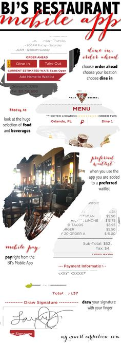 Dining Just Got Easier with BJs Mobile App #DineInOrderAhead #pmedia #ad - My Newest Addiction Beauty Blog