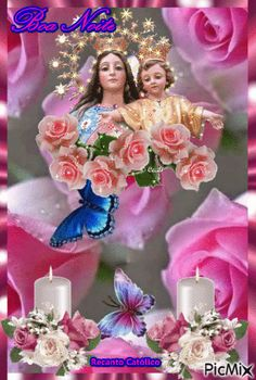 Jesus And Mary Pictures, Mother Mary Images, Images Of Mary, Rose Images, Angel Pictures, Mary Jesus Mother, Blessed Mother Mary, Mary And Jesus, Blessed Virgin Mary