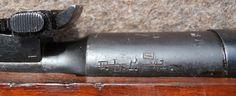 "Latvian ""F.L.P. Mi."" markings on Russian 1940 Tula M91-30 rifle."