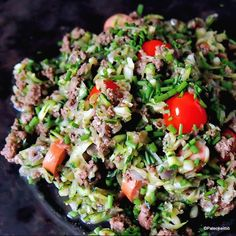 Cobb Salad, Paleo, Food And Drink, Low Carb, Ground Beef, Cooking, Ethnic Recipes, Low Carb Recipes, Kochen