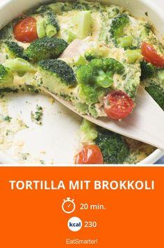 Tortilla mit Brokkoli | Kalorien: 230 Kcal - Zeit: 20 Min. | eatsmarter.de