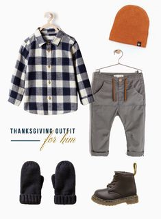 Hen & Co - Thanksgiving Outfit for Toddler Boy