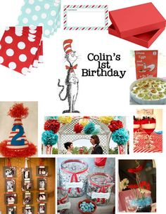 dr.seuss party ideas on a budget | Dr. Seuss First Birthday Party: Decor & Details - Nashville Wedding ...