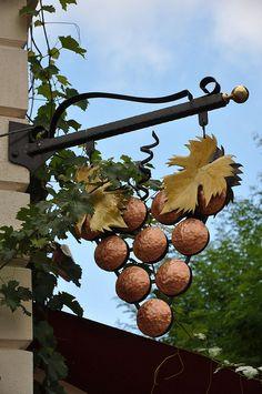 Wine Shop Sign.