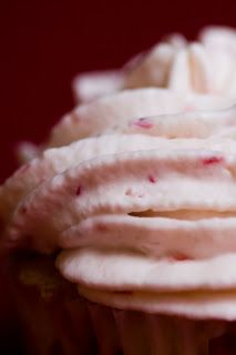 Strawberry Whipped cream topping for cupcakes! My Ten Favorite Frosting Recipes (from Cupcake Project)