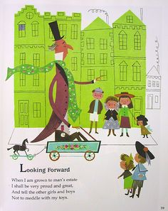 Vintage children's book illustrations - Alice and Martin Provensen