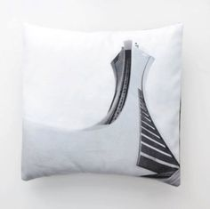 Cover / Cushion cover Olympic Stadium icon of by Fotofibre on Etsy