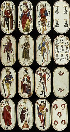 15th century playing cards   Museum for old Playing Cards