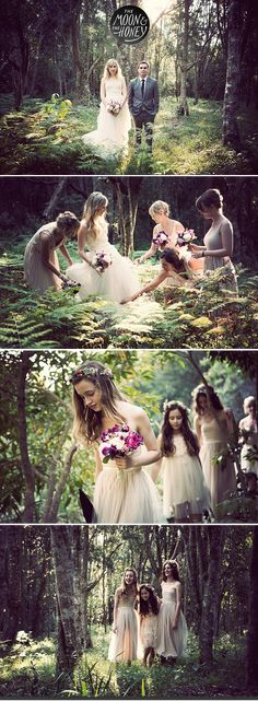 Want to take these pictures. Iowa Weddings | The Moon & The Honey Rustic, Woodland, Forest, Wedding inspiration