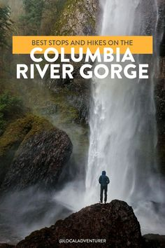 Best Hikes in the Columbia River Gorge Road Trip // Local Adventurer Check out the best hikes in the Columbia River Gorge listed from easy to difficult. We'll tell you why they made our list and what you see along the way. Oregon Vacation, Oregon Road Trip, Oregon Travel, Travel Portland, Vacation Spots, Road Trips, Pacific Crest Trail, Pacific Northwest, Pacific Coast