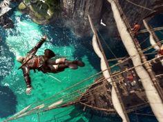 Assassins Creed 4 Black Flag Jump
