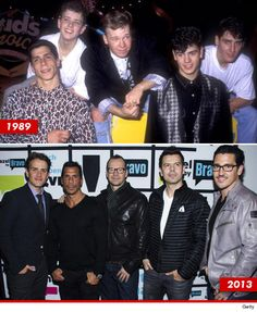 New Kids on the Block: My childhood favorite music group. Still to this day I love this group.