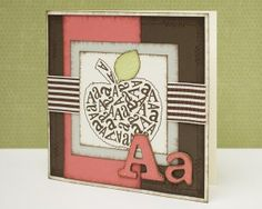 Cute card using fonts