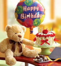 ارسم الابتسامة على وجه من تحب باجمال المناسبات عيد ميلاد عيد زواج تخريج مولود جديد الخ ارسل اجمل الهداي Its My Birthday Birthday Teddy Bear