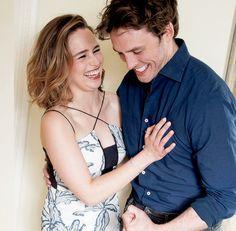 Emilia Clarke et Sam Claflin