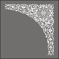 Morrocan stencils from The Stencil Library. Stencil catalogue quick view page 3.