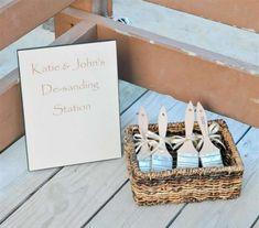 Cute beach wedding idea..I hate having sand on my feet