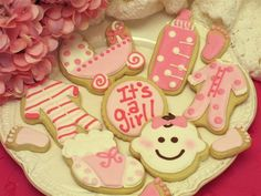 Baby Cookie Gifts from cheriscookies.com