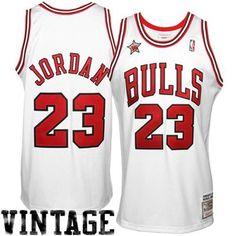Camiseta Michael Jordan Vintage Mitchell   Ness Chicago Bulls Camisetas De  Basquet ccab588f691