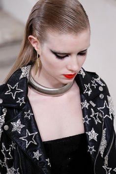 Saint Laurent RTW Fall 2016 || model Grace Hartzel